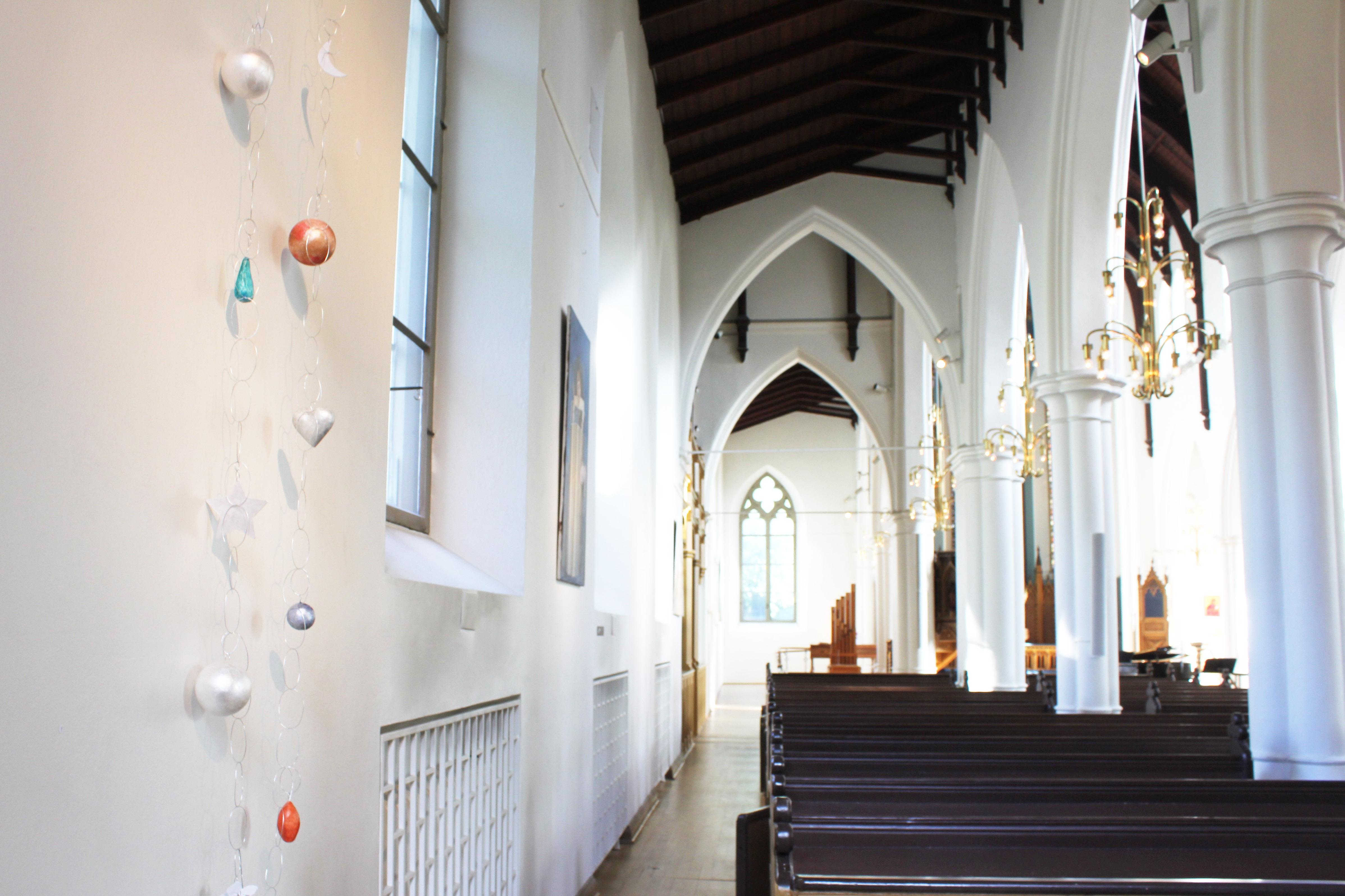 Utställning i Hagakyrkan